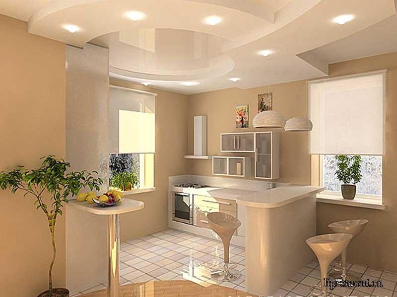 ремонт на кухне фото стены