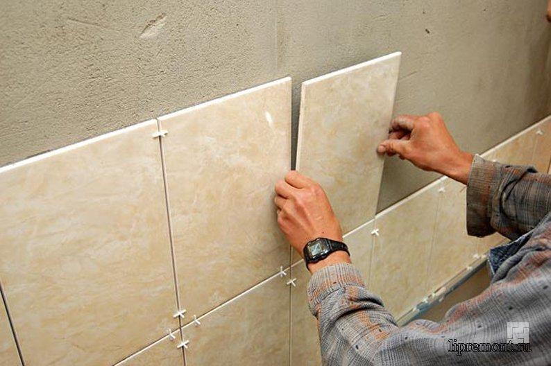 Укладка плитки на стены ванной своими руками