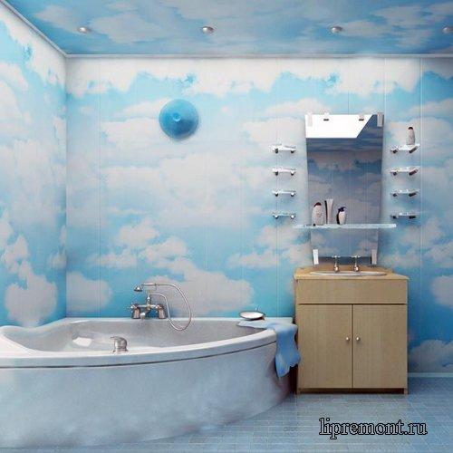Ремонт ванной комнаты пвх цена