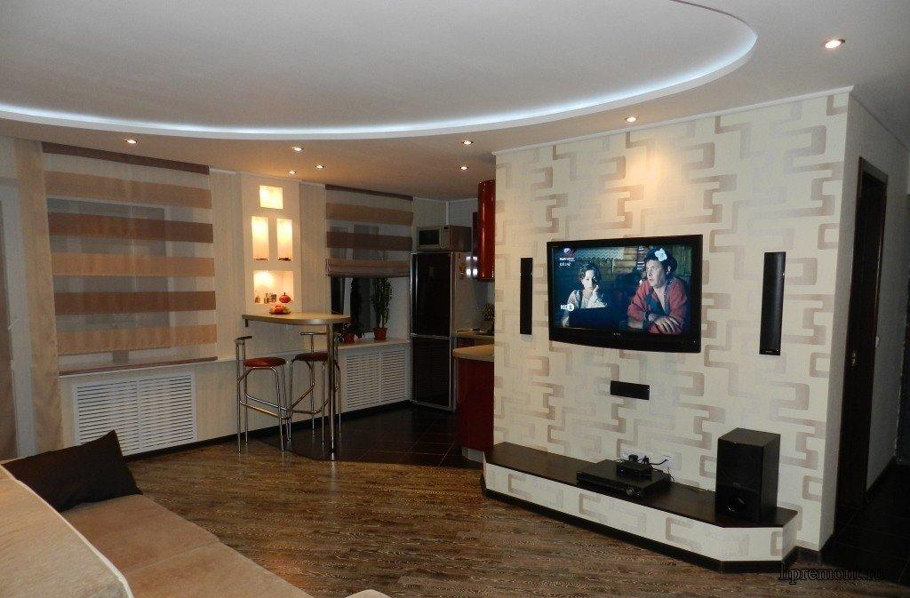 Перепланировка квартиры и перенос кухни в жилую комнату