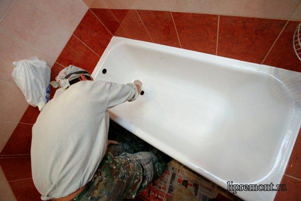 Как восстановить эмаль ванной своими руками!
